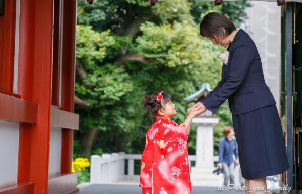 【東京】赤坂日枝神社での七五三撮影撮影