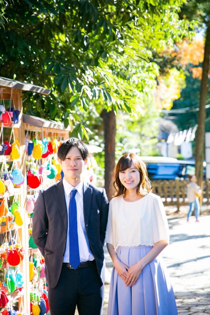 【埼玉】大宮氷川神社でのお宮参りの出張撮影