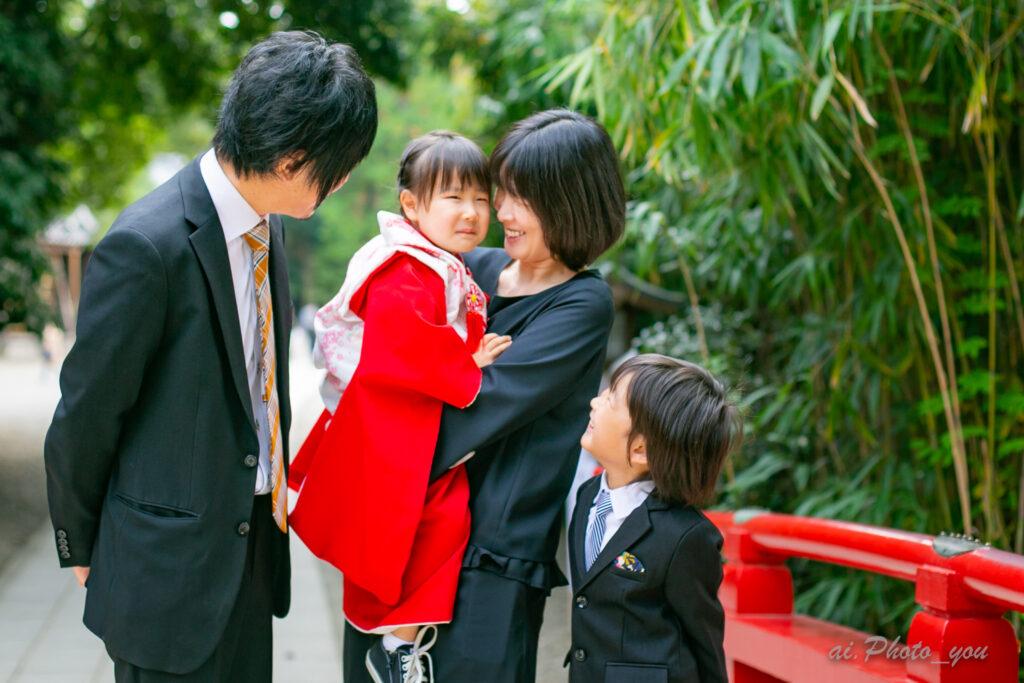【埼玉】大宮氷川神社での3歳七五三撮影